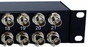 G703 Rj45 Rj48 Balun Panel 21e1 Coax To Rj45 Rj48 75 120