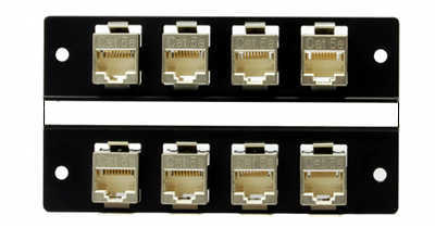 [Photo of 8 port Through Coupler RJ45 DDF B2]